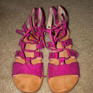 Dolce vita hot pink sandals